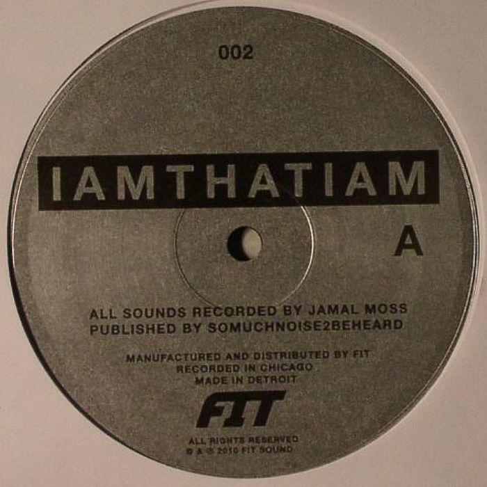 "IAMTHATIAM/THE INVISIBLE CHILDREN EP 12"""