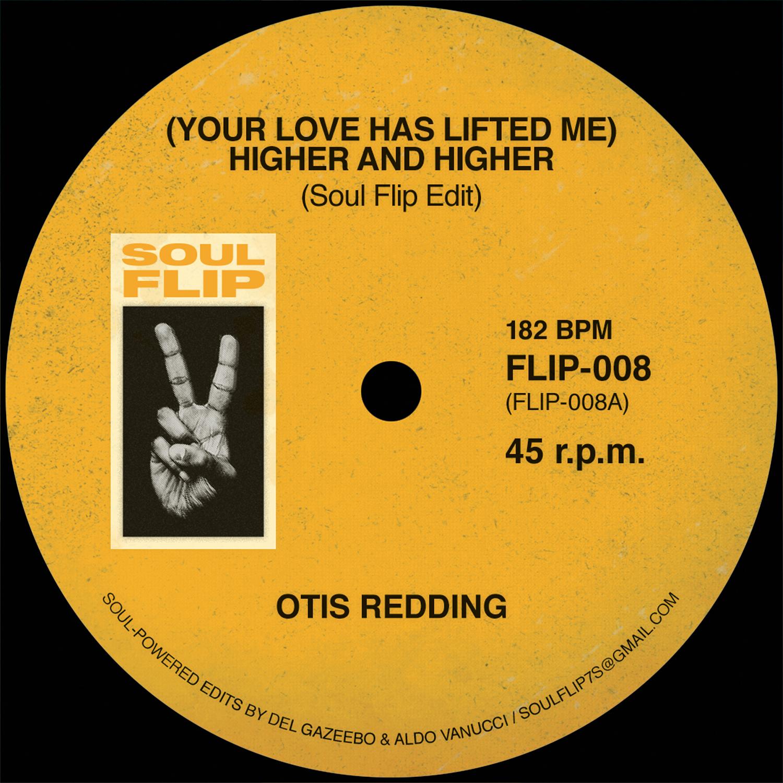 """Otis Redding/YOUR LOVE... SOUL FLIP 7"""""""