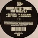 "Drumattic Twins/DEEP THROAT EP 12"""