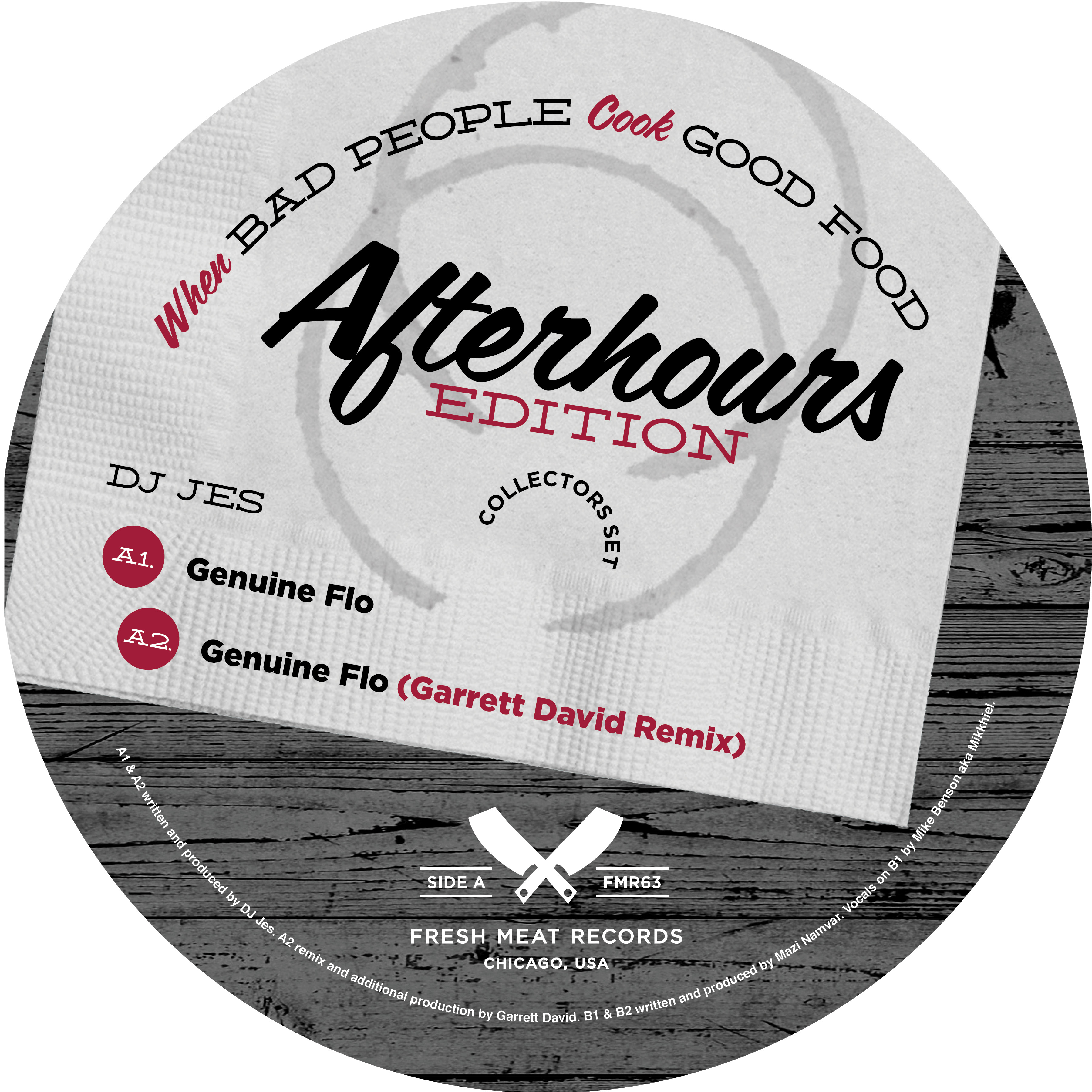 "DJ Jes & Studio Nova/WHEN BAD...12"""