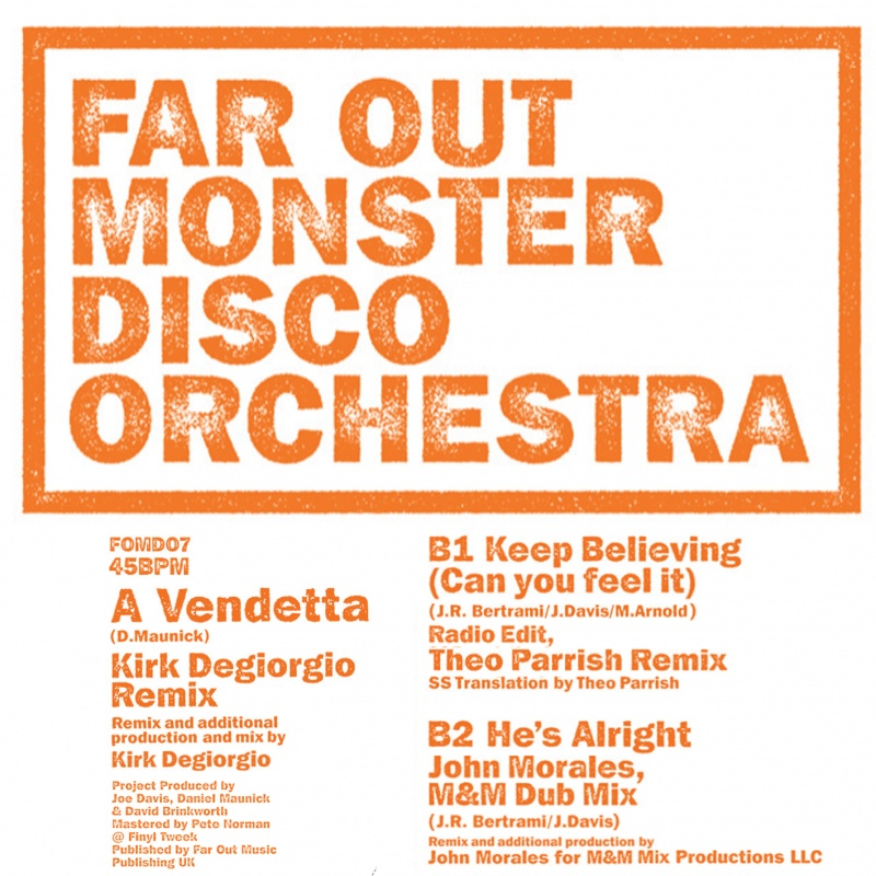 """Far Out Monster Disco/THEO PARRISH 12"""""""