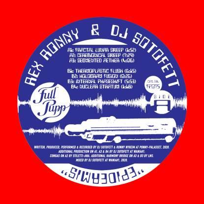 "Rex Ronny & DJ Sotofett/EPIDERMIS EP 12"""