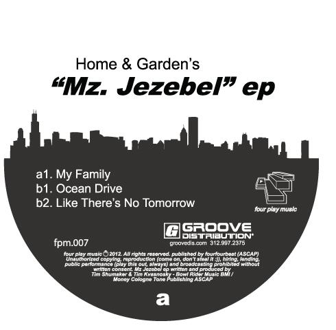 """Home & Garden/MZ. JEZEBEL EP 12"""""""