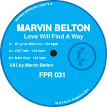 """Marvin Belton/LOVE WILL FIND A WAY 12"""""""