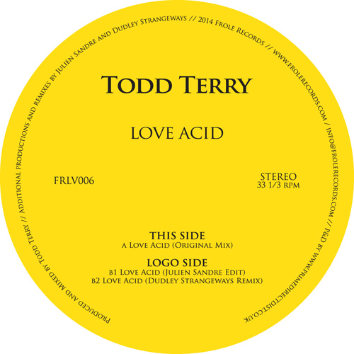 Todd Terry/LOVE ACID 12""