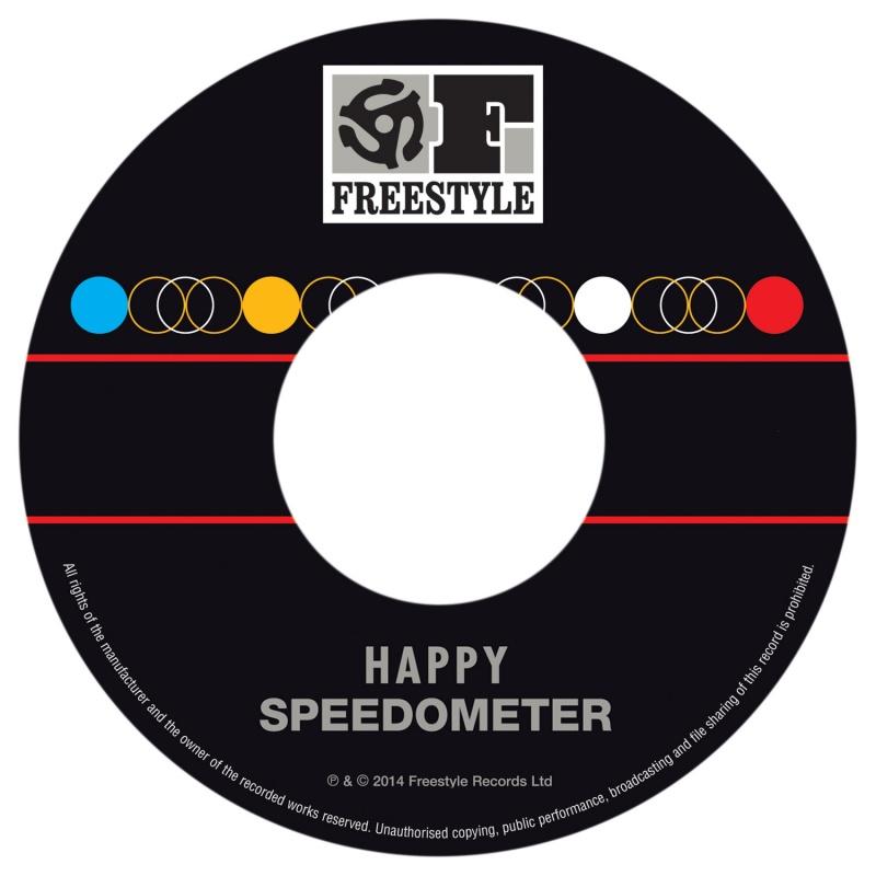"""Speedometer/HAPPY 7"""""""
