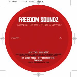 "Various/FREEDOM SOUNDZ SAMPLER VOL.1 12"""