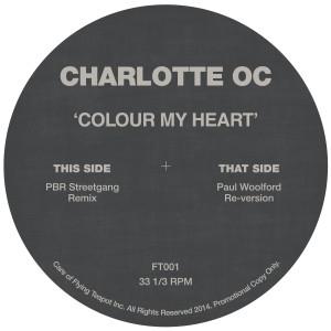 "Charlotte OC/COLOUR MY HEART REMIXES 12"""