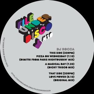 "DJ Rocca/LOVE POWER 12"""