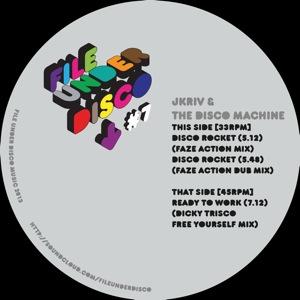 """JKriv & TDM/DISCO ROCKET-F.A. RMXS 12"""""""