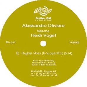 "Allesandro Oliveiro/HIGHER SKIES 12"""