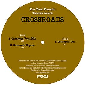 "Ron Trent & Tkumah Sadeek/CROSSROADS 12"""