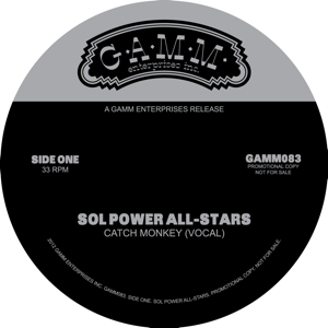 Sol Power All-Stars/CATCH MONKEY 12""