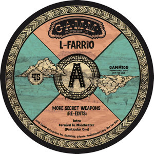 L-Farrio/MORE SECRET WEAPONS 12""