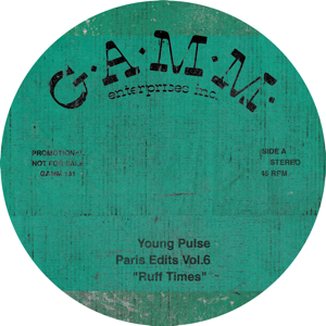 Young Pulse/PARIS EDITS VOL. 6 12""