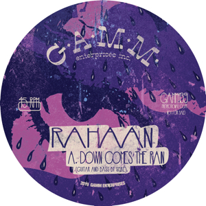 Rahaan/DOWN COMES THE RAIN 12""