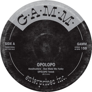 "Opolopo/G.A.M.M. TWEAKS: GAMM159 12"""