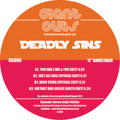 "Deadly Sins/GIANT CUTS VOL. 6 12"""