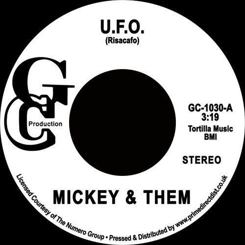 "Mickey & Them/U.F.O. 7"""
