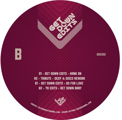 "Get Down Edits/VOLUME 2 EP 12"""