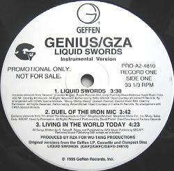 Genius GZA/LIQUID SWORDS INSTR LP