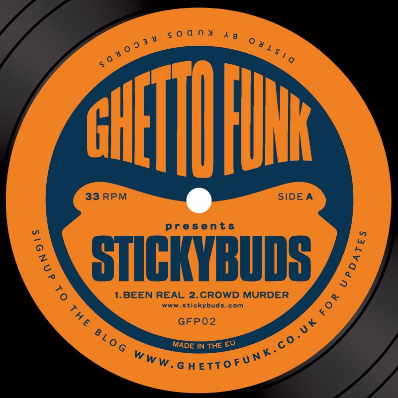 Stickybuds/GHETTO FUNK PRESENTS  12""