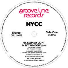"NYCC/I'LL KEEP MY LIGHT IN MY WINDOW 12"""