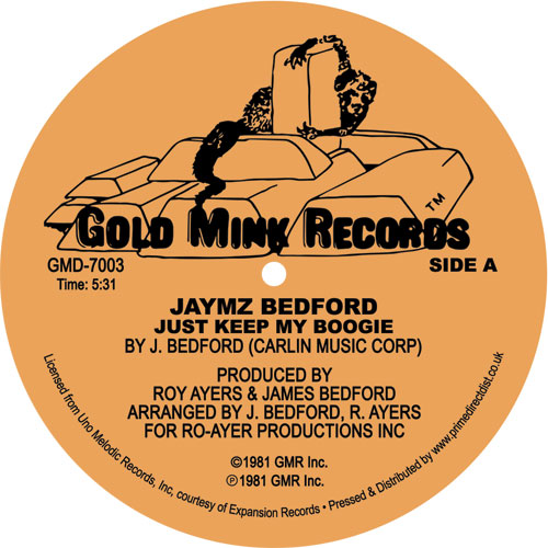 Jaymz Bedford/JUST KEEP MY BOOGIE 12""