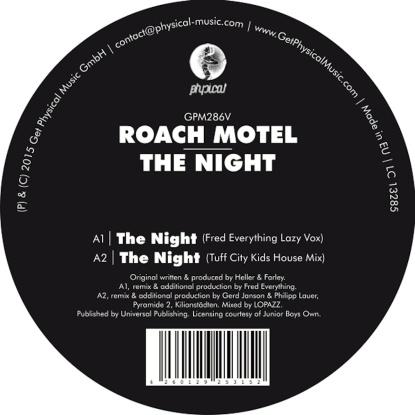 "Roach Motel/THE NIGHT 12"""