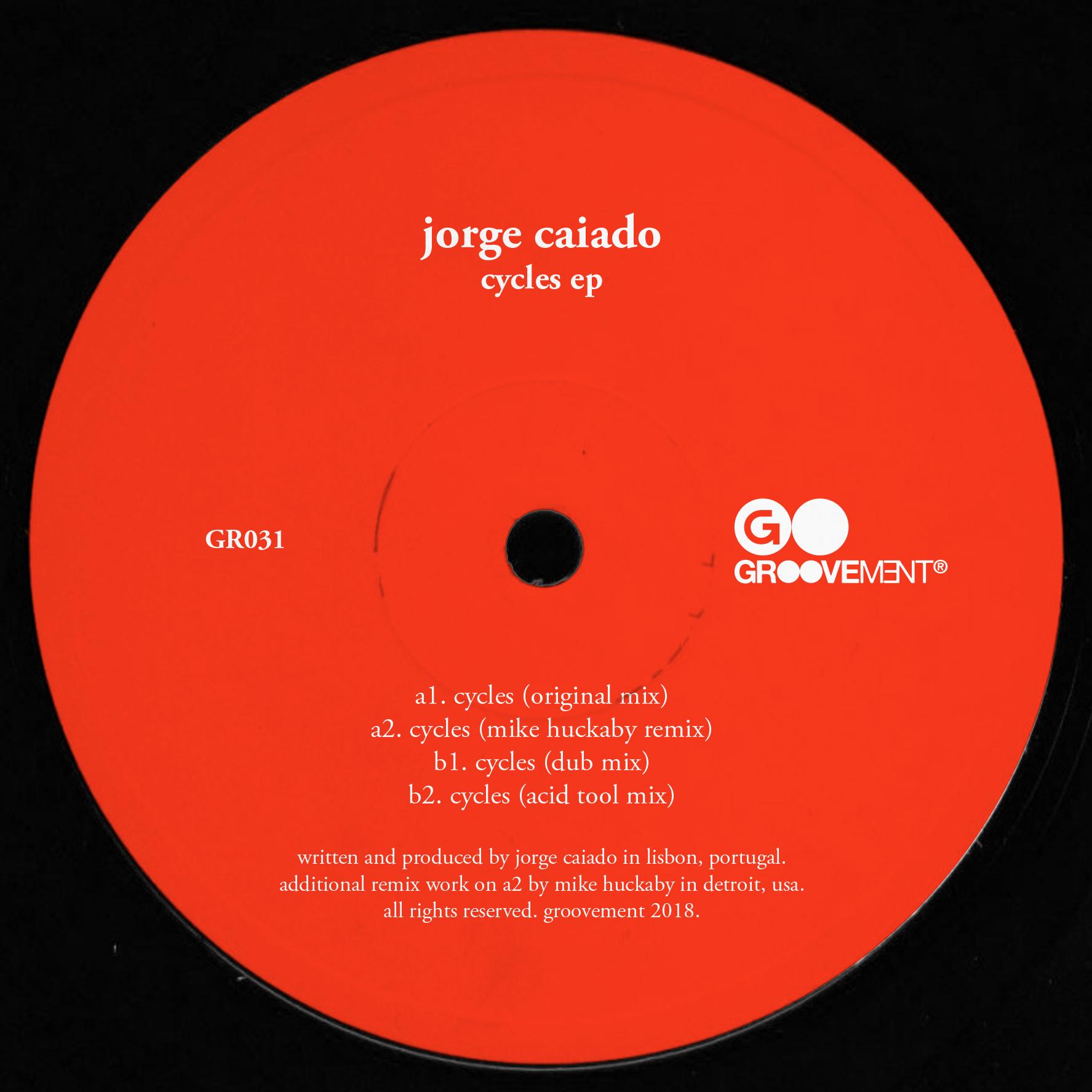 "Jorge Caiado/CYCLES-MIKE HUCKABY RMX 12"""