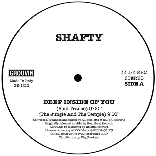 Shafty/DEEP INSIDE OF YOU 12""