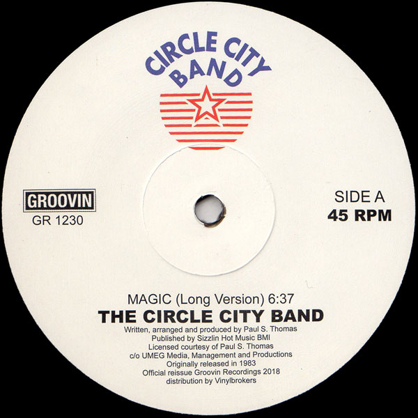Circle City Band/MAGIC 12""