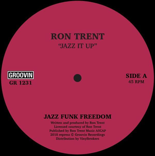 """Ron Trent/JAZZ IT UP (REPRESS) 12"""""""