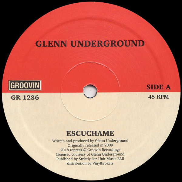 "Glenn Underground/ESCUCHAME 12"""