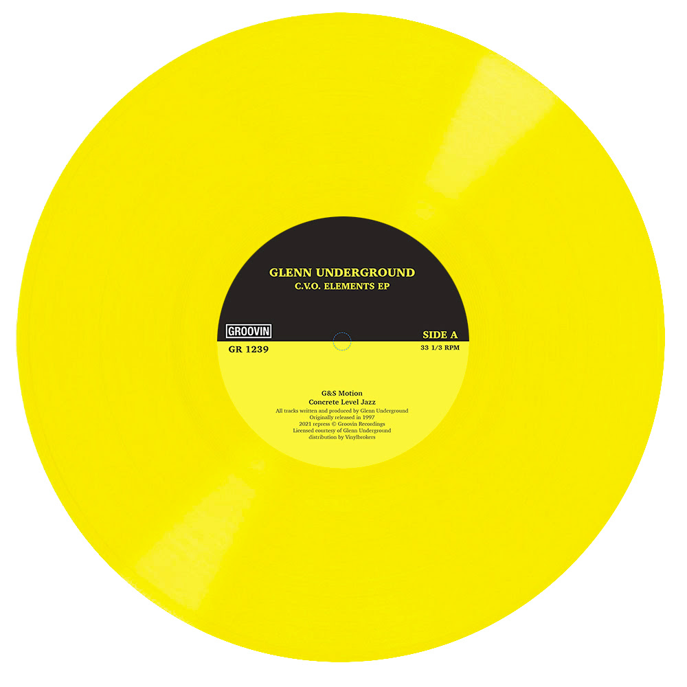 Glenn Underground/CVO ELEMENTS (CV) 12""