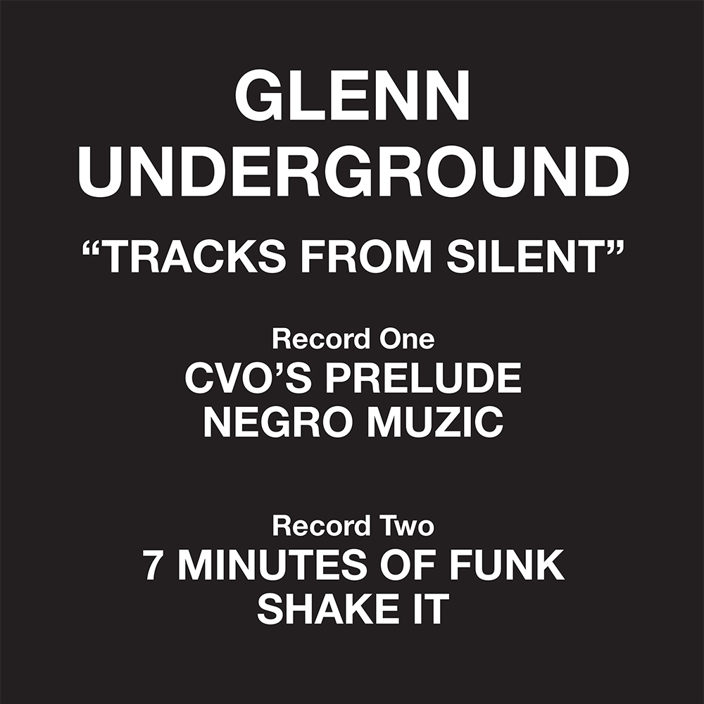 Glenn Underground/TRACKS FROM...D12""