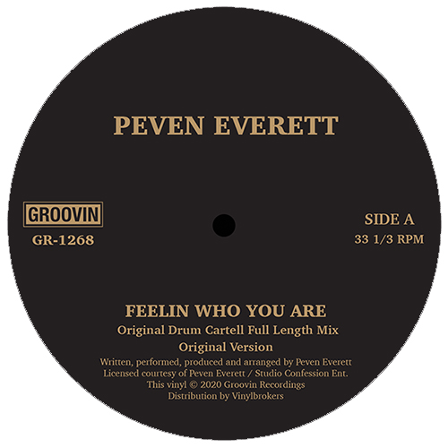 Peven Everett/FEELIN WHO YOU ARE 12""