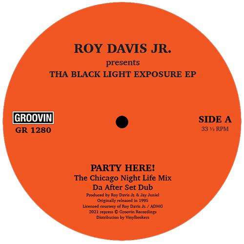 "Roy Davis Jr/BLACK LIGHT EXPOSURE EP 12"""