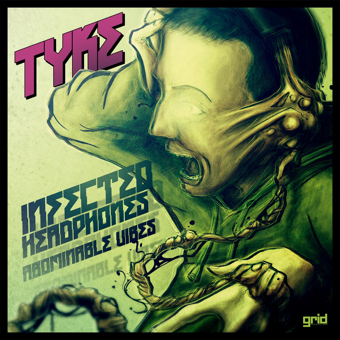 """Tyke/INFECTED HEADPHONES 12"""""""