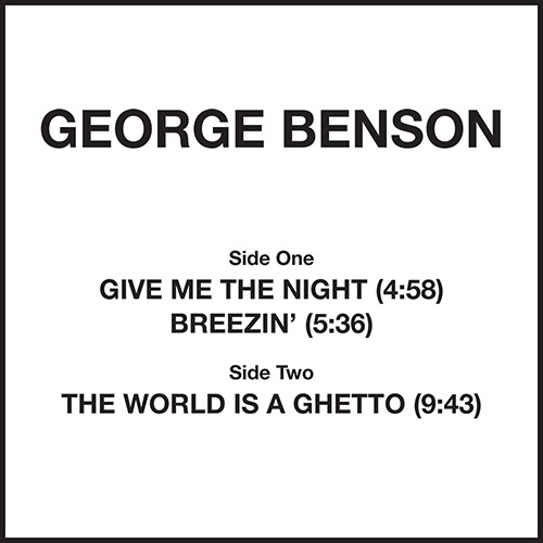 George Benson/GIVE ME THE NIGHT 12""