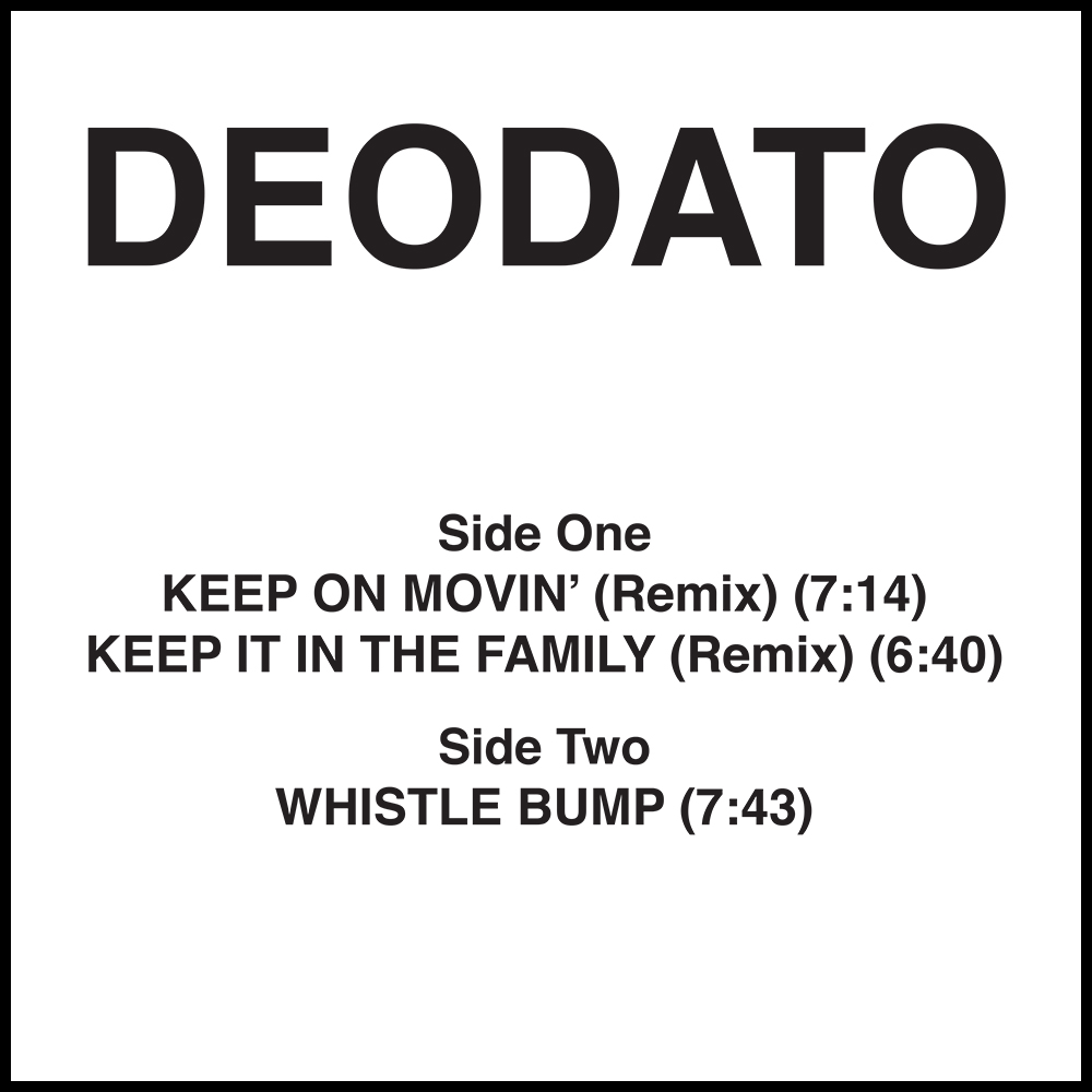 Deodato/KEEP ON MOVIN' (REMIX) 12""