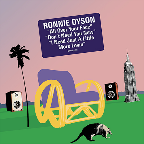 """Ronnie Dyson/ALL OVER YOUR FACE 12"""""""