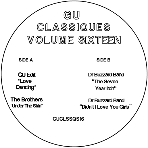 "Glenn Underground/CLASSIQUES VOL. 16 12"""