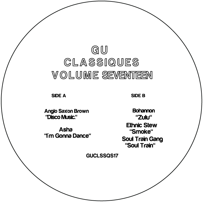 "Glenn Underground/CLASSIQUES VOL. 17 12"""