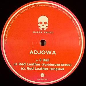 "Adjowa/RED LEATHER (FUNKINEVEN RMX) 12"""