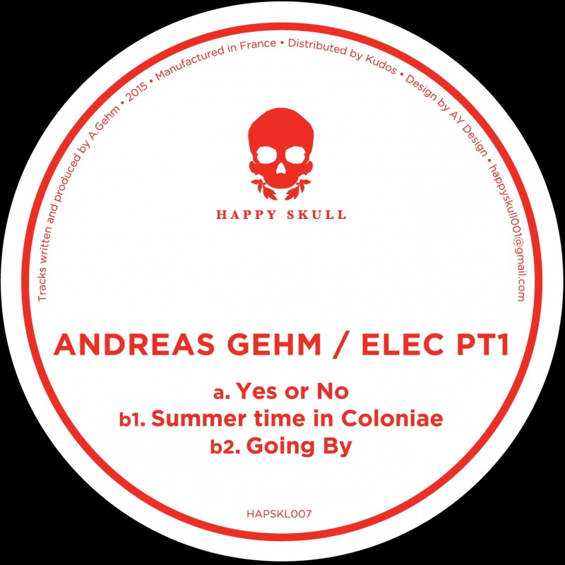 """Andreas Gehm/YES OR NO 12"""""""