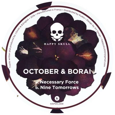 "October & Borai/NECESSARY FORCE 12"""