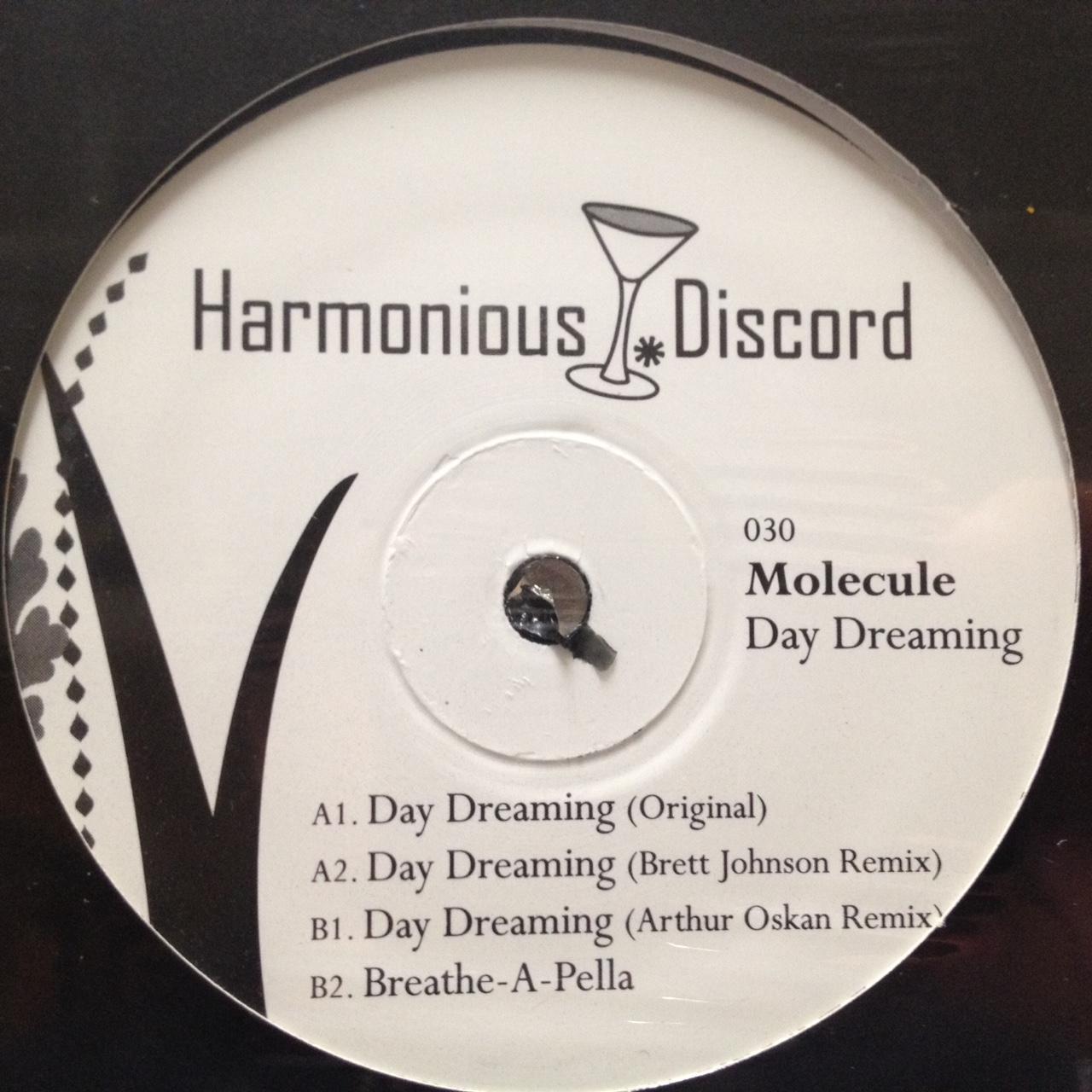 "Molecule/DAY DREAMING B JOHNSON RMX 12"""