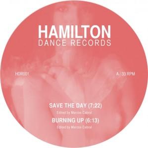 """Marcos Cabral/HAMILTON DANCE 001 12"""""""