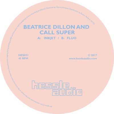 "Beatrice Dillon & Call Super/INKJET 12"""